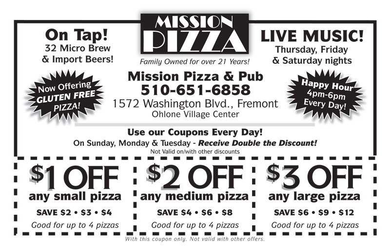 Mission Pizza & Pub, Restaurants business in Fremont. See up-to-date pricelists and view recent announcements for this enterenjoying.mlry: Restaurants, Pizza.